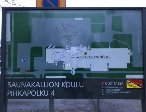Segon dia a #Finlandia Saunakallion Koulu #ErasmusCraBQ