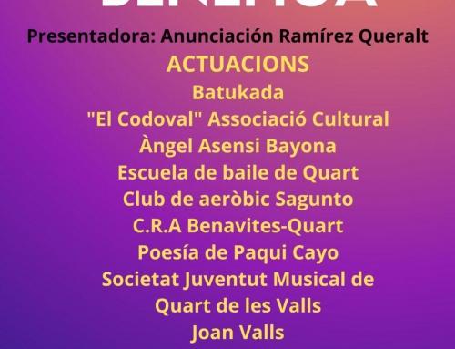 Gala Benéfica Ajuntament de Quart de les Valls – Comunicat