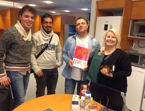 Quart dia a #Finlandia en Järvenpää Lukio #ErasmusCraBQ