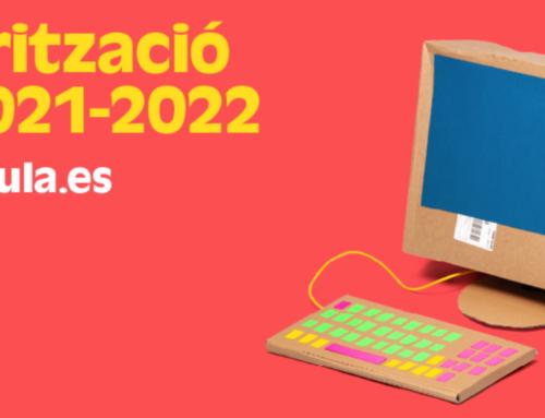 """Procés de """"TELEMATRÍCULA"""" per al curs 2021-2022"""